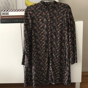 Zara Floral Dress Size XS